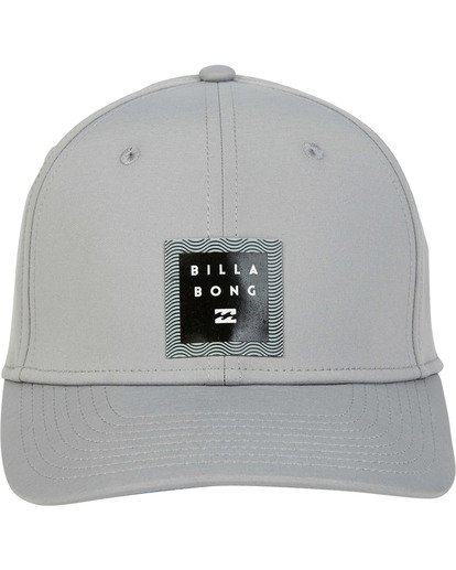 1 Tech Stretch Hat Grey MAHWTBTE Billabong