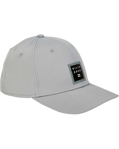 2 Tech Stretch Hat Grey MAHWTBTE Billabong