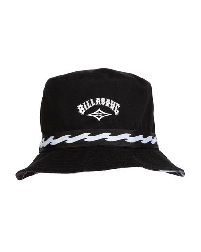 4 VIBES REVO BUCKET HAT Black MAHWTBVB Billabong