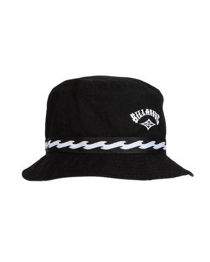 3 VIBES REVO BUCKET HAT Black MAHWTBVB Billabong