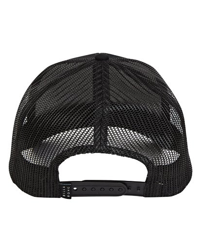 3 Walled Trucker Hat Black MAHWTBWA Billabong