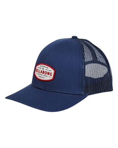 0 Walled Trucker Hat Blue MAHWTBWA Billabong
