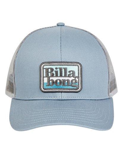 1 Walled Trucker Hat Grey MAHWTBWA Billabong