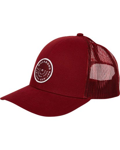 0 Walled Trucker Hat Red MAHWTBWA Billabong