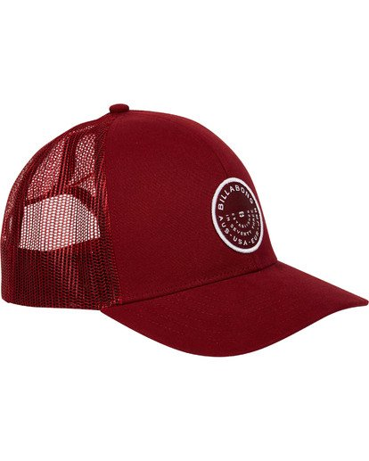 2 Walled Trucker Hat Red MAHWTBWA Billabong