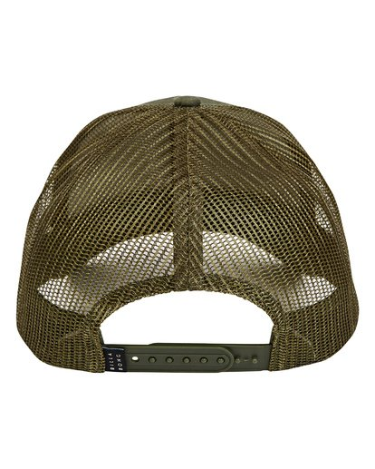 3 Walled Trucker Hat Green MAHWTBWA Billabong
