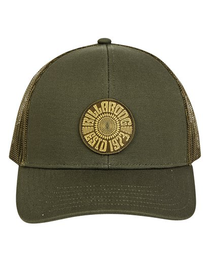 1 Walled Trucker Hat Green MAHWTBWA Billabong