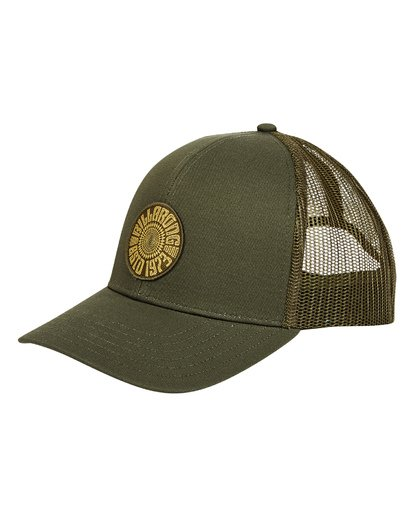 0 Walled Trucker Hat Green MAHWTBWA Billabong