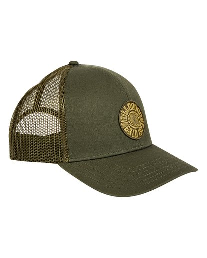 2 Walled Trucker Hat Green MAHWTBWA Billabong