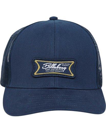1 Walled Trucker Hat Blue MAHWTBWA Billabong
