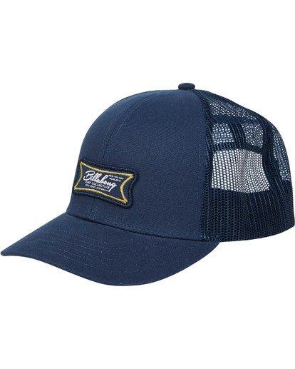 0 Walled Trucker Hat Blue MAHWTBWA Billabong