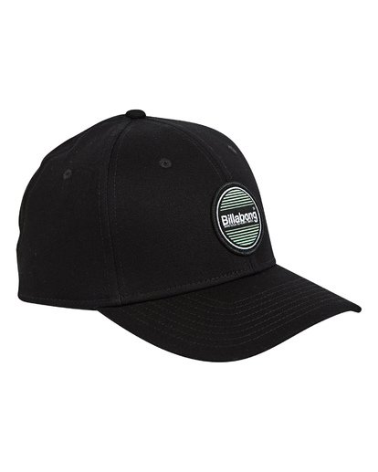 2 Walled Stretch Hat Black MAHWTBWD Billabong