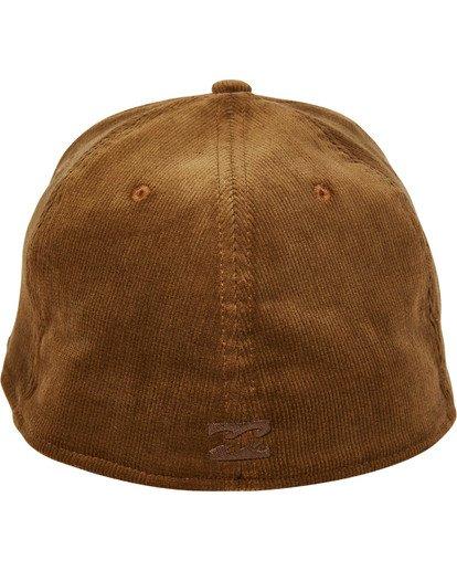 3 Walled Stretch Hat Brown MAHWTBWD Billabong