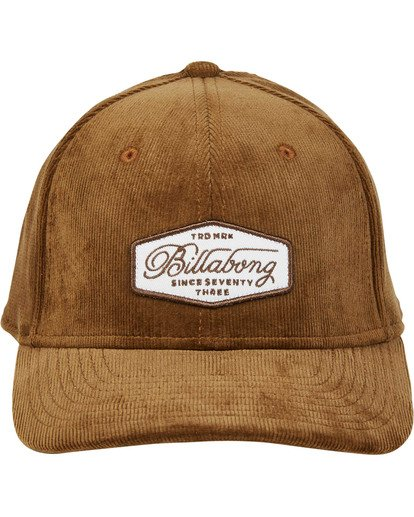 1 Walled Stretch Hat Brown MAHWTBWD Billabong