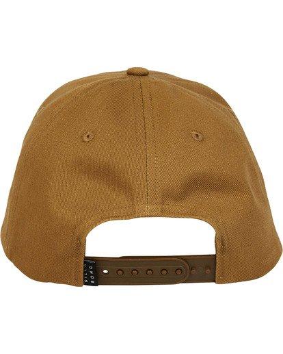 3 Walled Snapback Hat Brown MAHWTBWS Billabong