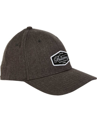 2 Walled Snapback Hat Grey MAHWTBWS Billabong