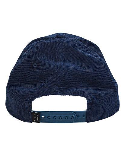 3 Walled Snapback Hat Blue MAHWTBWS Billabong