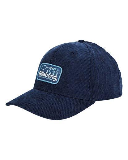 0 Walled Snapback Hat Blue MAHWTBWS Billabong
