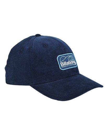 2 Walled Snapback Hat Blue MAHWTBWS Billabong