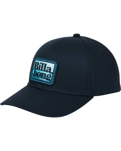 0 Walled Snapback Hat Blue MAHWTBWS Billabong