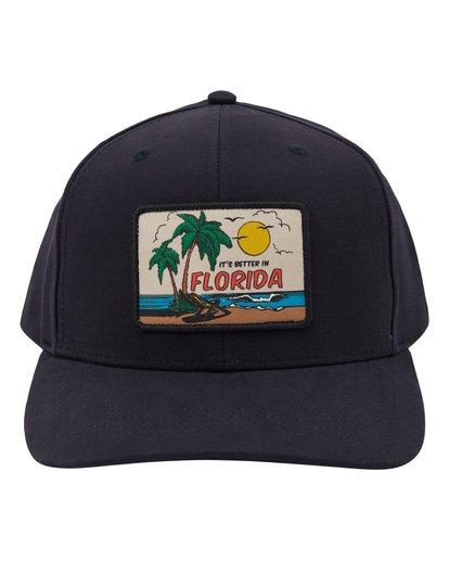 1 Paradise Snapback Hat Multicolor MAHWTBYR Billabong