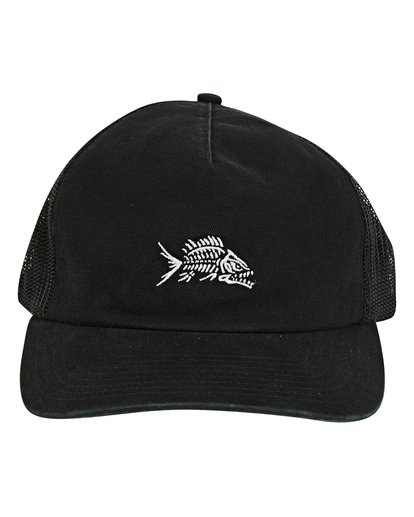 1 Fauna Trucker Hat Black MAHWUBFA Billabong