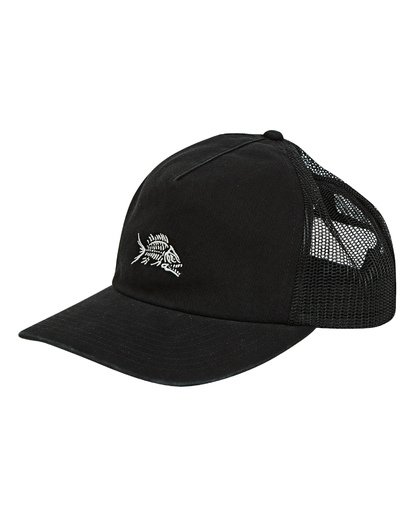 0 Fauna Trucker Hat Black MAHWUBFA Billabong