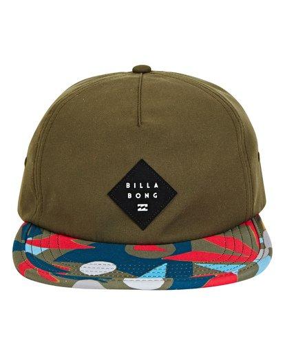 1 Jetty Hat Green MAHWUBJE Billabong
