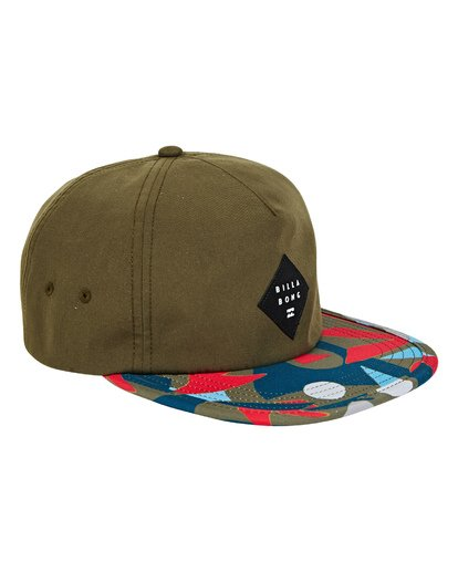 2 Jetty Hat Green MAHWUBJE Billabong
