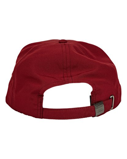 3 Slappy Hat Red MAHWUBSL Billabong