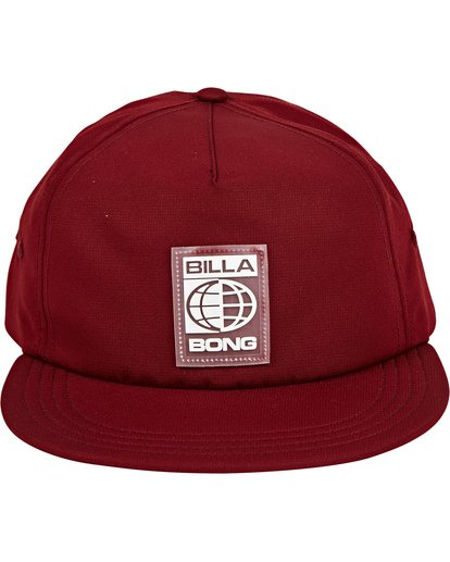 1 Slappy Hat Red MAHWUBSL Billabong