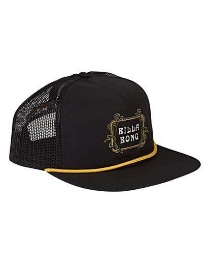 2 Alliance Trucker Hat Black MAHWVBAL Billabong