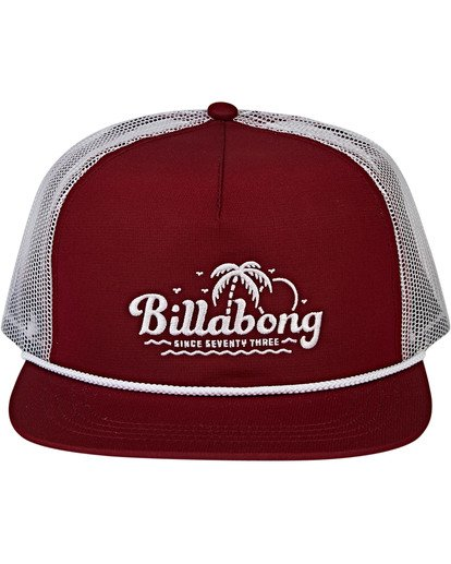1 Alliance Trucker Hat Red MAHWVBAL Billabong