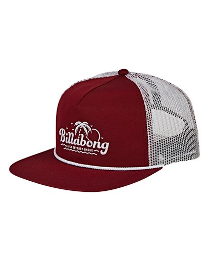 0 Alliance Trucker Hat Red MAHWVBAL Billabong
