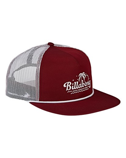 2 Alliance Trucker Hat Red MAHWVBAL Billabong