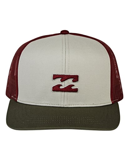 1 All Day Trucker Hat Brown MAHWVBAR Billabong