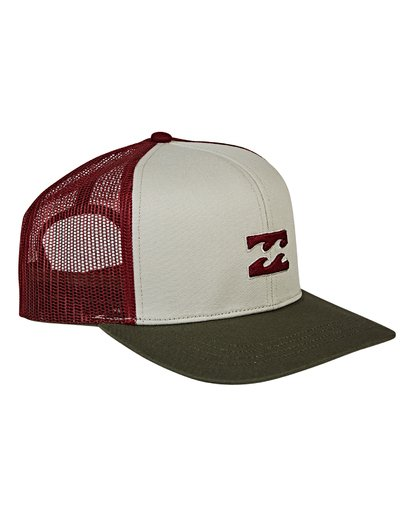 2 All Day Trucker Hat Brown MAHWVBAR Billabong