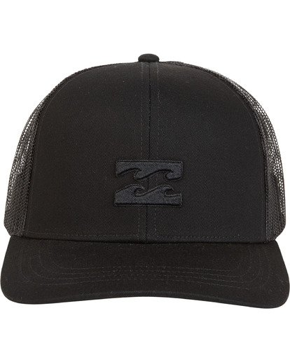 3 All Day Trucker Hat Black MAHWVBAR Billabong