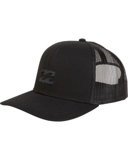 1 All Day Trucker Hat Black MAHWVBAR Billabong