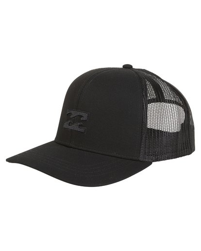 0 All Day Trucker Hat Black MAHWVBAR Billabong