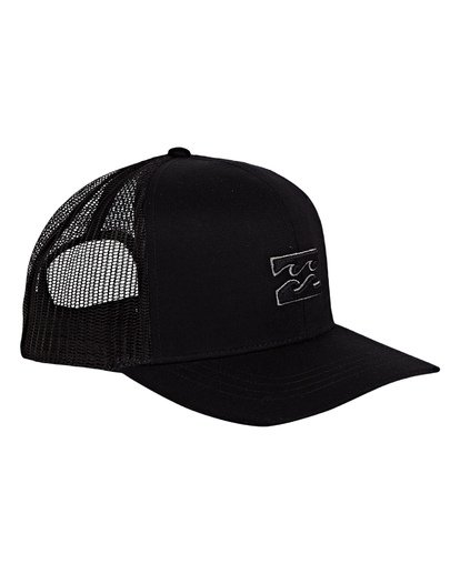 2 All Day Trucker Hat Black MAHWVBAR Billabong
