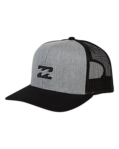 0 All Day Trucker Hat Grey MAHWVBAR Billabong