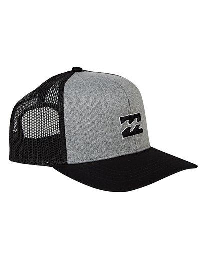 2 All Day Trucker Hat Grey MAHWVBAR Billabong