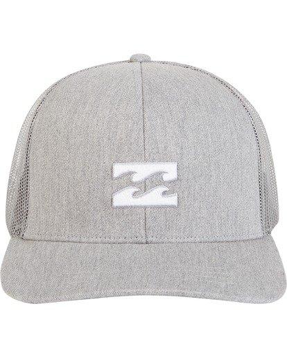 3 All Day Trucker Hat Grey MAHWVBAR Billabong