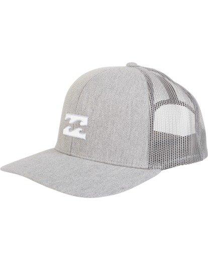 1 All Day Trucker Hat Grey MAHWVBAR Billabong