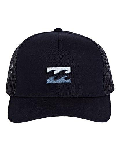 1 All Day Trucker Hat Blue MAHWVBAR Billabong