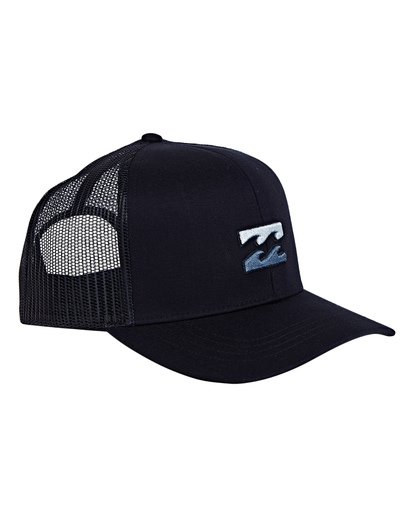 2 All Day Trucker Hat Blue MAHWVBAR Billabong