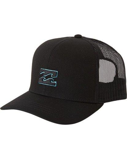 1 All Day Trucker Hat White MAHWVBAR Billabong