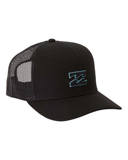 2 All Day Trucker Hat White MAHWVBAR Billabong