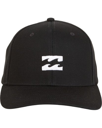 3 All Day Snapback Black MAHWVBAS Billabong